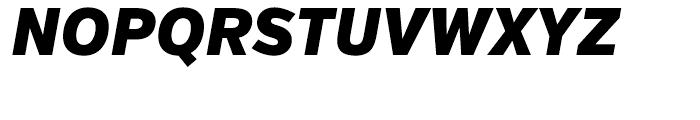 Verb Condensed Black Italic Font UPPERCASE