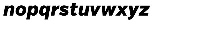 Verb Condensed Black Italic Font LOWERCASE
