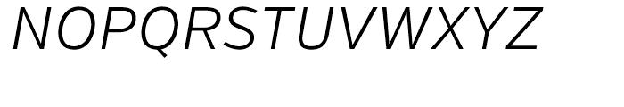 Verb Light Italic Font UPPERCASE