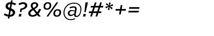Verb Medium Italic Font OTHER CHARS