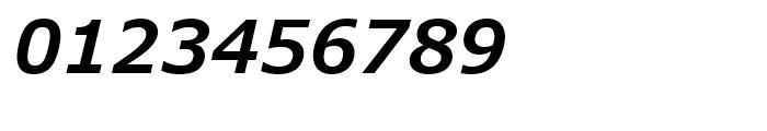 Verdana Pro SemiBold Italic Font OTHER CHARS