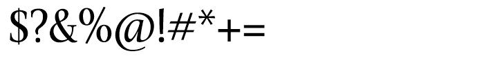Veritas Roman Font OTHER CHARS