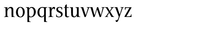 Veritas Roman Font LOWERCASE