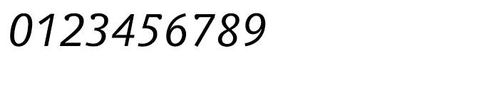 Veronika Italic Font OTHER CHARS