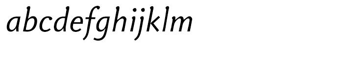 Veronika Italic Font LOWERCASE