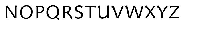 Veronika Regular Font UPPERCASE