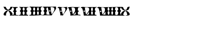 Versals Regular Font OTHER CHARS