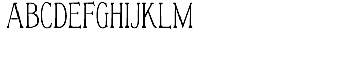 Vertrina Condensed SC Font UPPERCASE