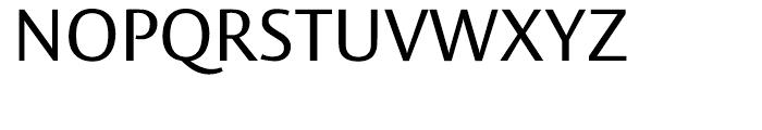 Vesta Regular Font UPPERCASE
