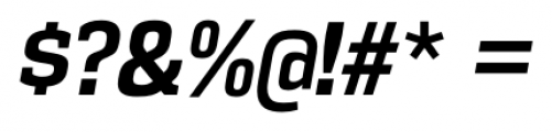 Vectipede Bold Italic Font OTHER CHARS