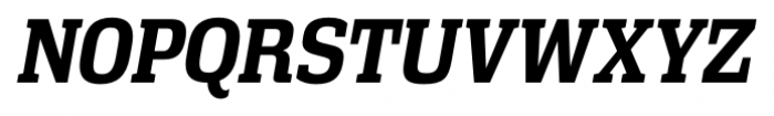 Vectipede Bold Italic Font UPPERCASE