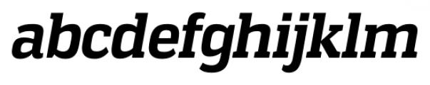 Vectipede Bold Italic Font LOWERCASE