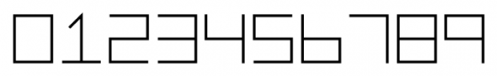 Vektori NarrowBold Font OTHER CHARS