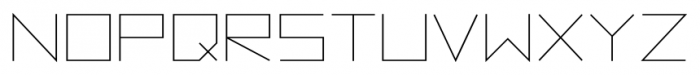 Vektori Regular Font LOWERCASE