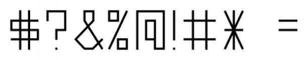 Vektori SuperNarrowBold Font OTHER CHARS