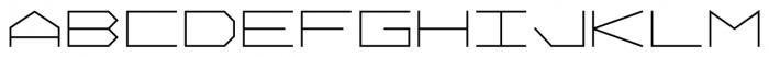 Vektori WideBold Font LOWERCASE