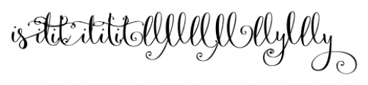 Velvet Berries Combo 1 Font LOWERCASE
