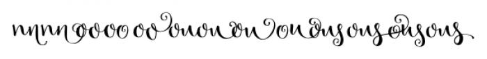 Velvet Berries Combo 2 Font UPPERCASE