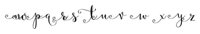 Velvet Berries Left Font UPPERCASE
