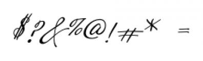Velvet Hammer Regular Font OTHER CHARS