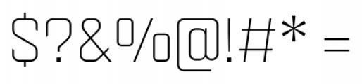 Velvet Light Font OTHER CHARS