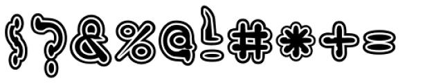 VELVETVELOUR Font OTHER CHARS
