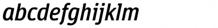 Vecta DT Italic Font LOWERCASE