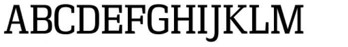 Vectipede Book Font UPPERCASE