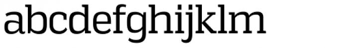 Vectipede Book Font LOWERCASE