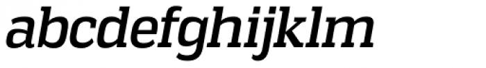 Vectipede Italic Font LOWERCASE