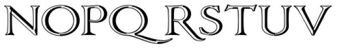 Vectis Monumental Font LOWERCASE