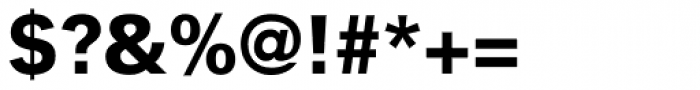 Vectora Pro 95 Black Font OTHER CHARS