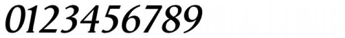 Vega Antikva SemiBold Italic Font OTHER CHARS