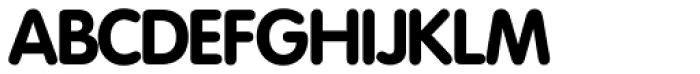 Vega SH Bold Font UPPERCASE