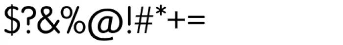 Vega SH Light Font OTHER CHARS