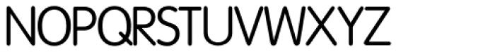 Vega SH Light Font UPPERCASE
