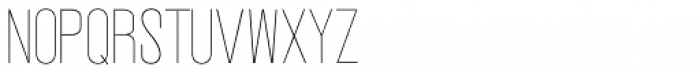 Vegas Nova Thin Font UPPERCASE