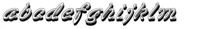 Vegas Font LOWERCASE