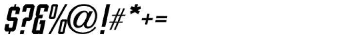 Vehicle Oblique JNL Font OTHER CHARS