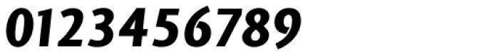 Vekta Sans Black Italic Font OTHER CHARS