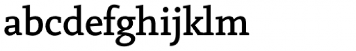 Vekta Serif Medium Font LOWERCASE