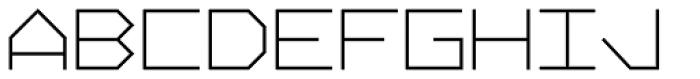 Vektori Bold Font UPPERCASE