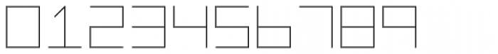 Vektori Narrow Font OTHER CHARS