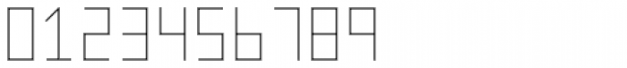 Vektori SuperNarrow Font OTHER CHARS