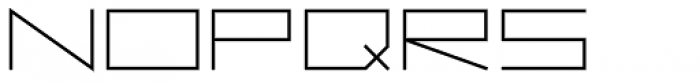 Vektori Wide Bold Font UPPERCASE