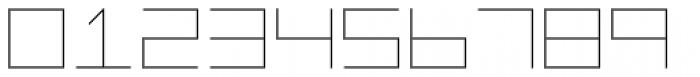 Vektori Font OTHER CHARS