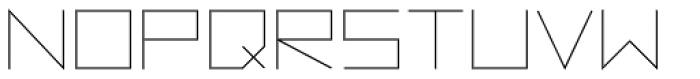 Vektori Font UPPERCASE