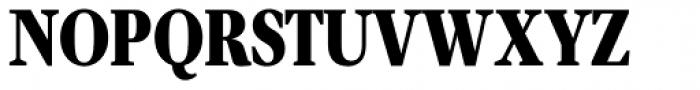 Velino Compressed Text Black Font UPPERCASE