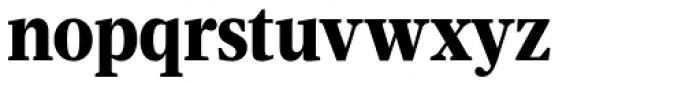 Velino Condensed Text Black Font LOWERCASE