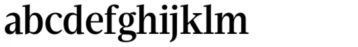 Velino Condensed Text Medium Font LOWERCASE